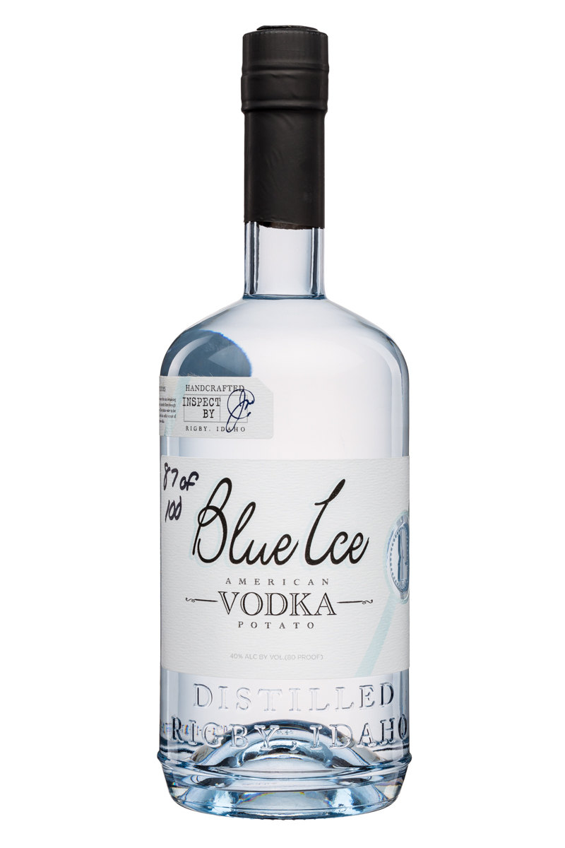 Blue Ice Vodka: BlueIce-AmericanPotatoVodka