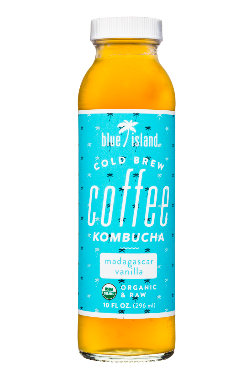 Cold Brew Coffee Kombucha - Madagascar Vanilla