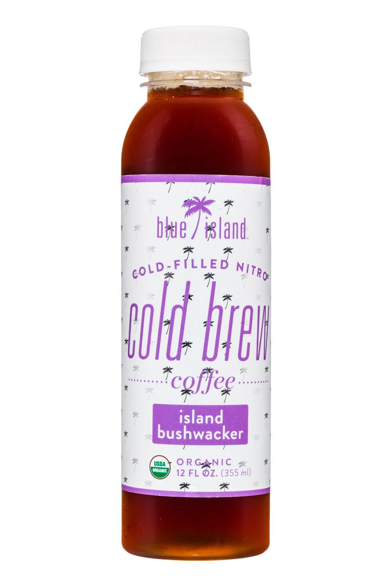Blue Island Coffee: BlueIsland-ColdFilledNitro-ColdBrew-12oz-IslandBushwacker-Front