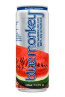Blue Monkey Watermelon Juice: BlueMonkey-11oz-WatermelonJuice-Front