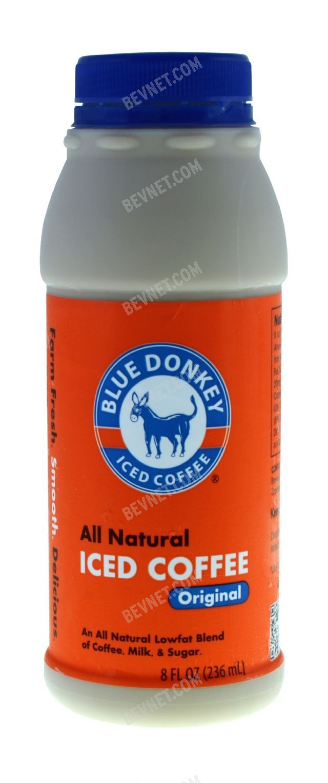 Blue Donkey Iced Coffee:
