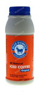 Blue Donkey Iced Coffee: