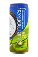 Blue Monkey Coconut Water: BlueMonkey-SparkingCoconut-CocoKiwi-Front