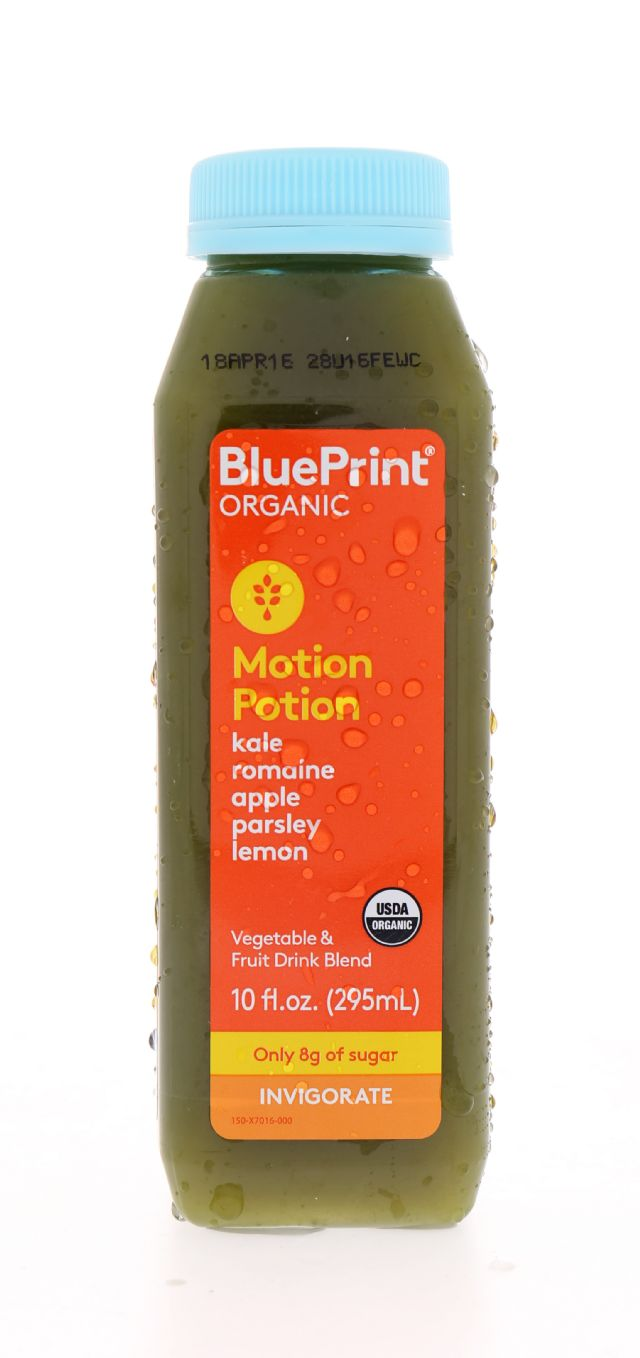 BluePrint Organic: BluePrint MotionPotion Front