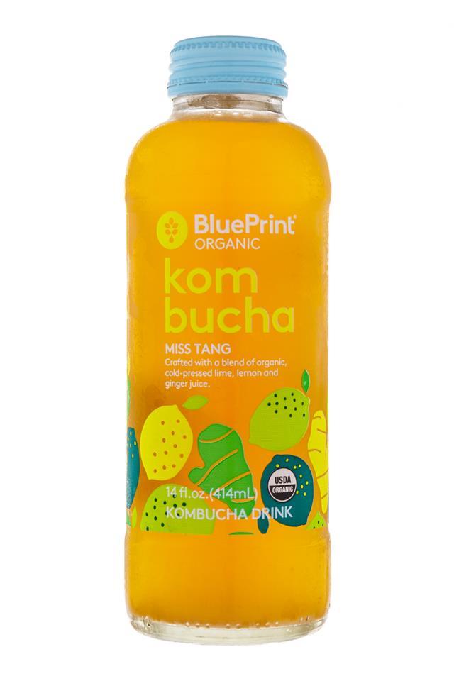 BluePrint Organic Kombucha: BluePrint-MissTang-Front