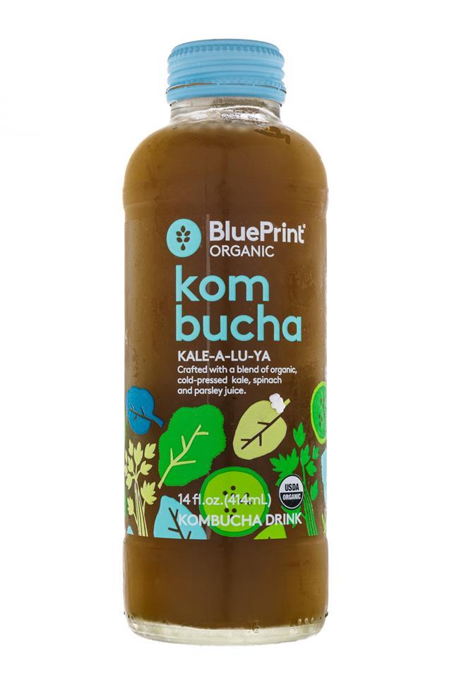BluePrint Organic Kombucha: BluePrint-KaleALuYa-Front