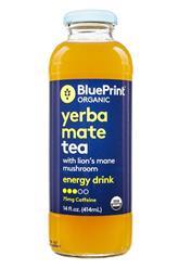 Yerba Mate Tea with Lion's Mane Mushroom