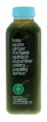 Kale Apple Ginger Romaine Spinach Cucumber Celery Parsley Lemon