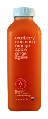 Cranberry Cinnamon Orange Apple Ginger Agave