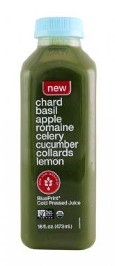Chard Basil Apple Romaine Celery Cucumber Collards Lemon