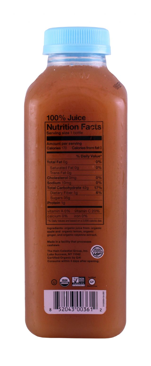 BluePrint Juice: BluePrint AppleGinger Facts