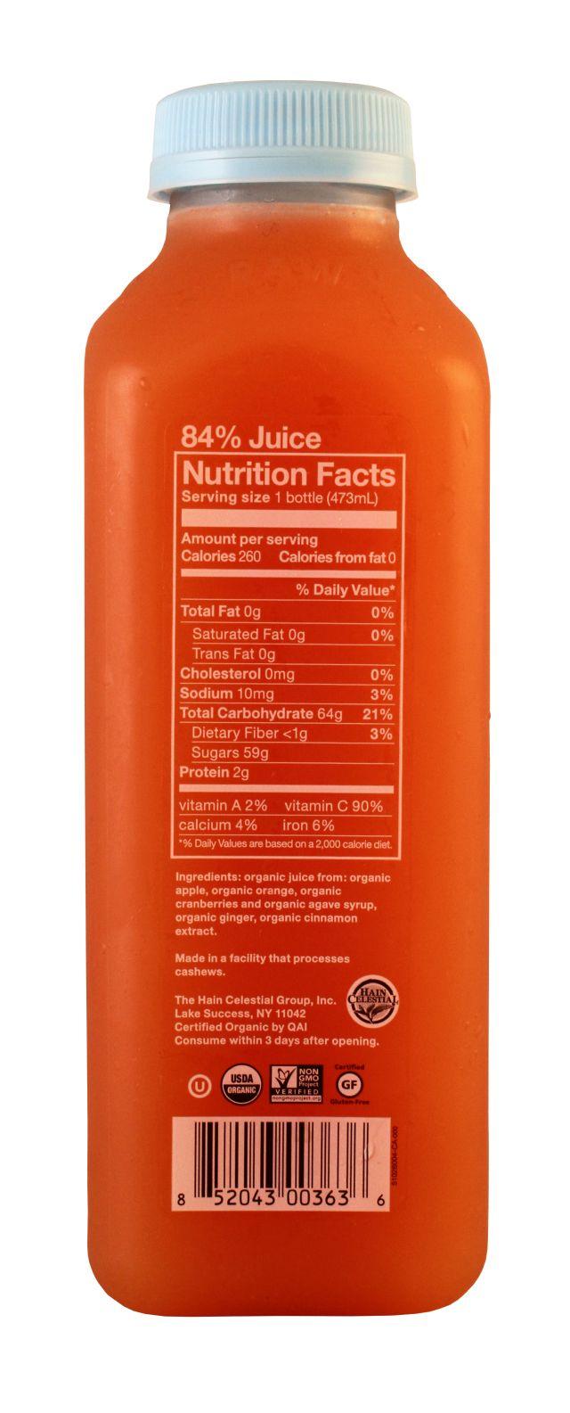 BluePrint Juice: BluePrint Cranberry Facts
