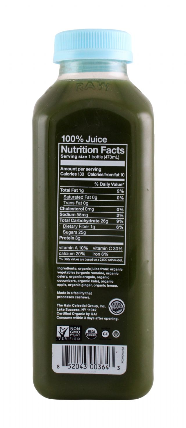 BluePrint Juice: BluePrint NewArugula Facts