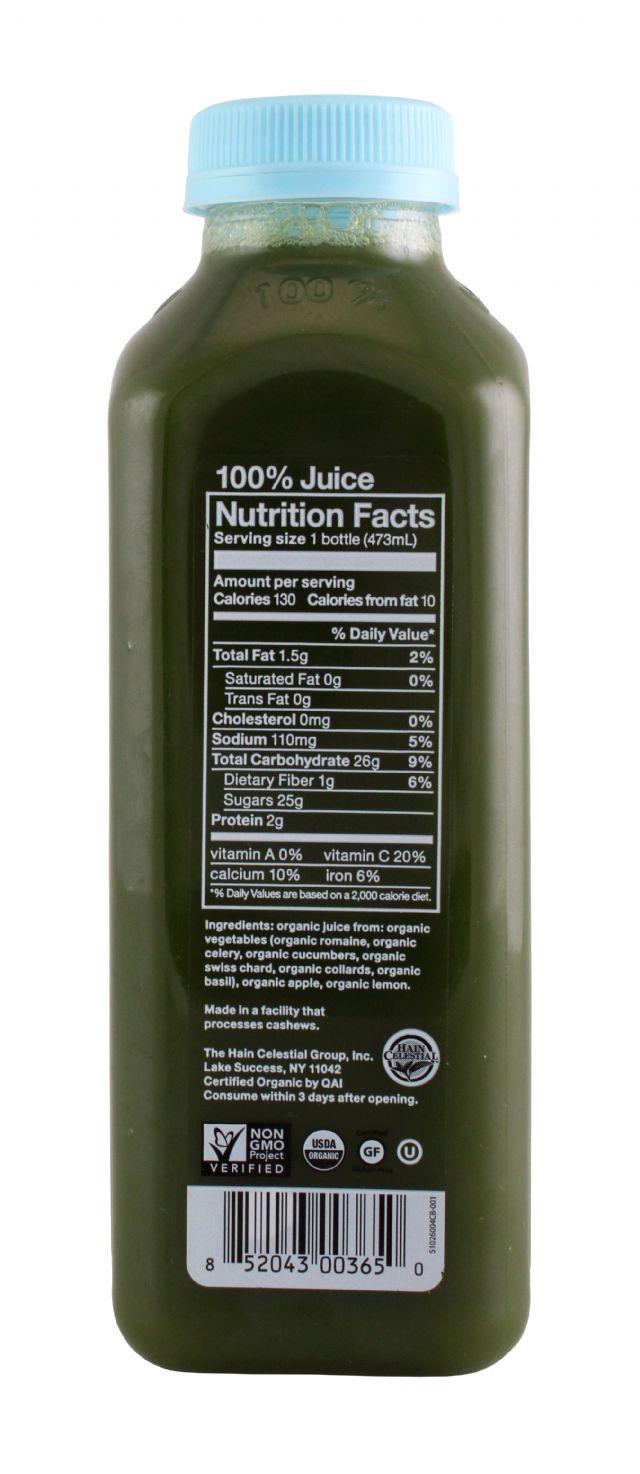 BluePrint Juice: BluePrint NewChard Facts