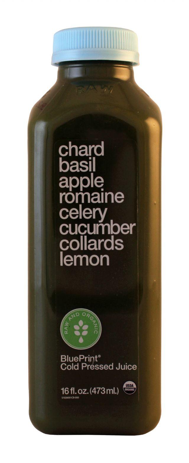 BluePrint Juice: BluePrint Chard Front