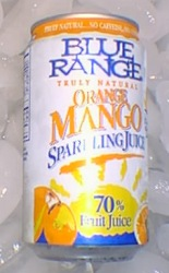 Orange Mango Sparkling Juice