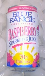 Raspberry Sparkling Juice