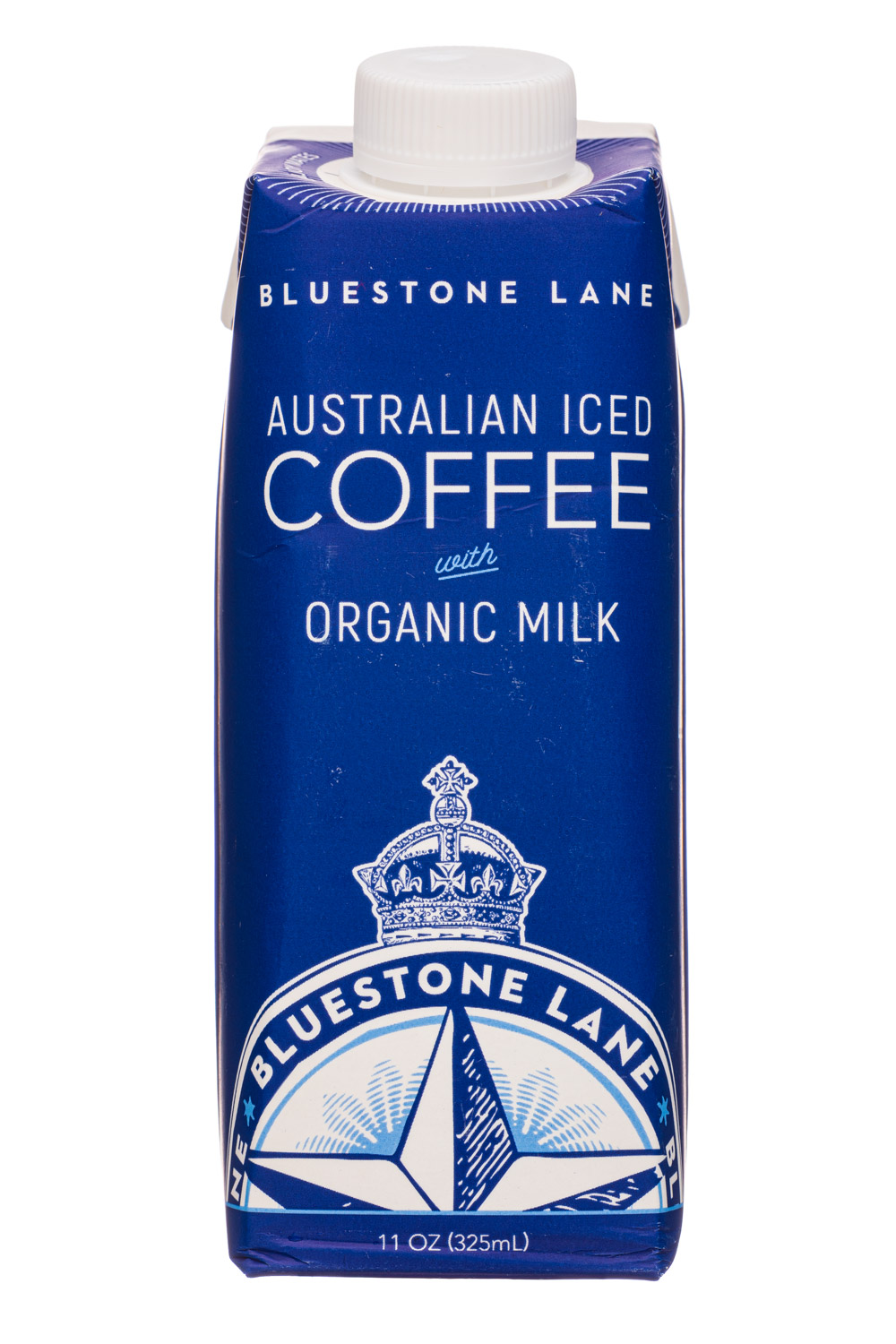 Bluestone Lane: BluestoneLane-11oz-AustralianIcedCoffee-Milk-Front