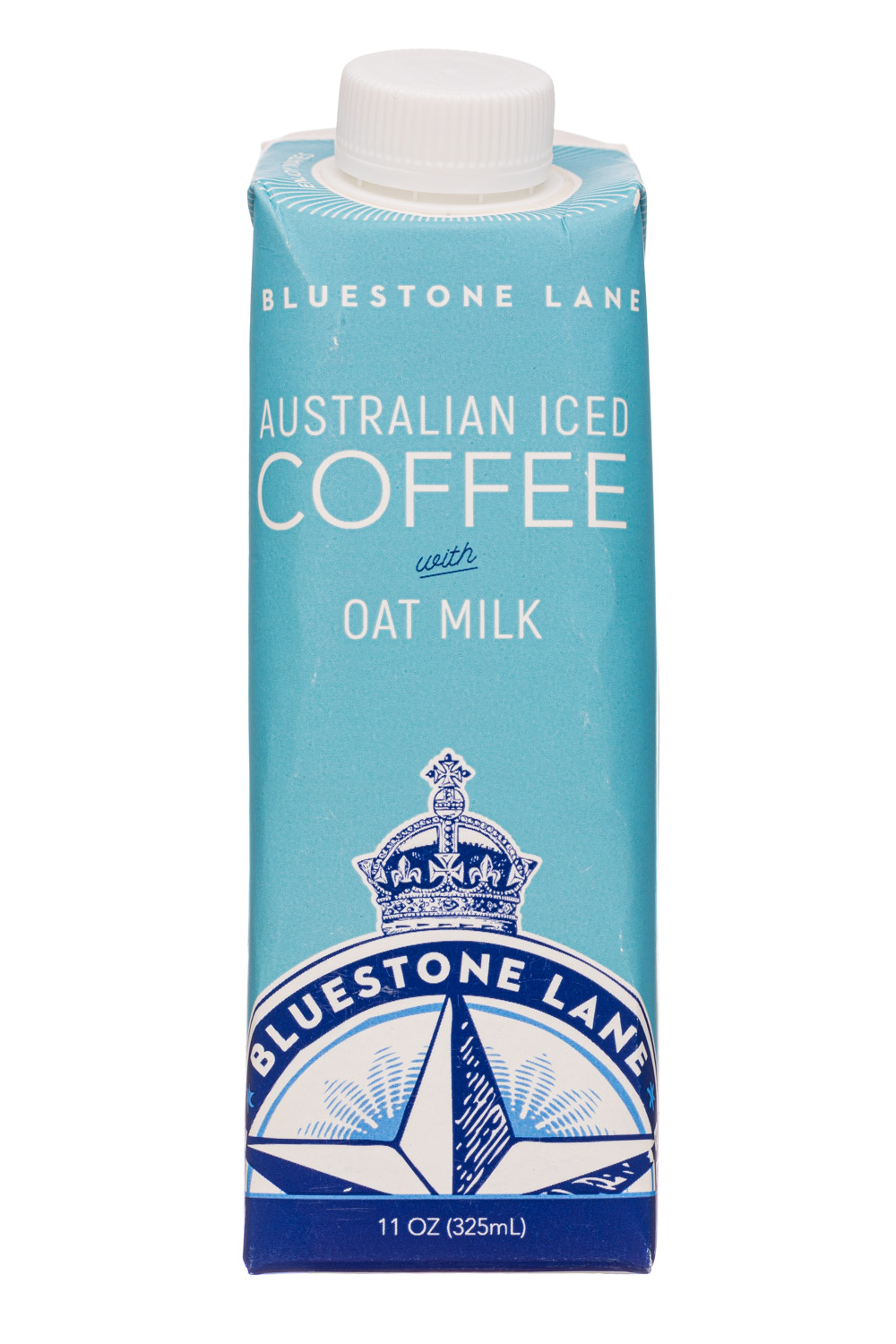 Bluestone Lane: BluestoneLane-11oz-AustralianIcedCoffee-Oat-Front