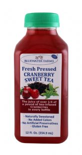 Cranberry Sweet Tea