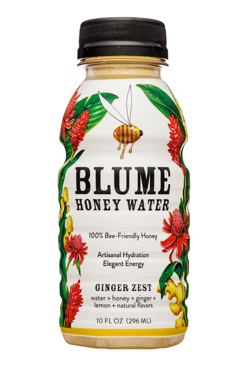 Blume Honey Water: Blume-10oz-HoneyWater-GingerZest-Front