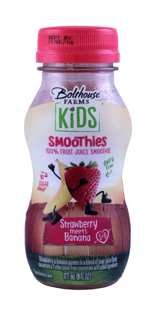 Bolthouse Farms Kids Smoothies: Bolthouse StawberryBanana Front