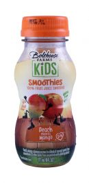 Bolthouse Farms Kids Smoothies: Bolthouse PeachMango Front