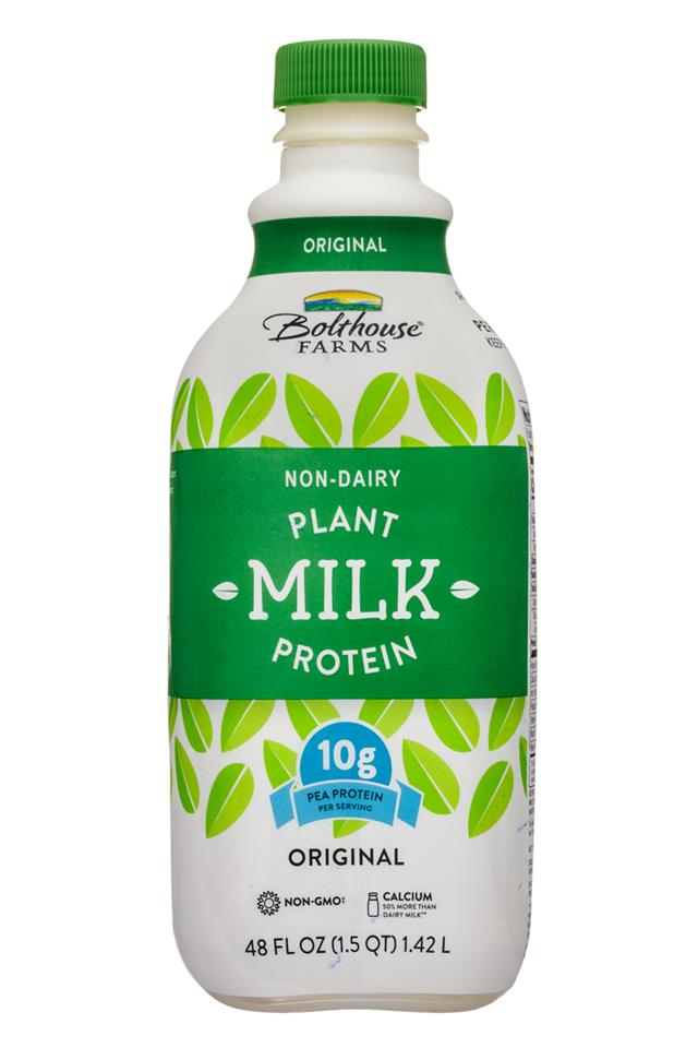 Bolthouse Farms Plant Protein Milk: BolthouseFarms-48oz-PlantMilkProtein-Original-Front