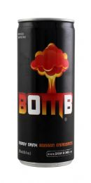 Bomb Energy Drink: Bomb Front