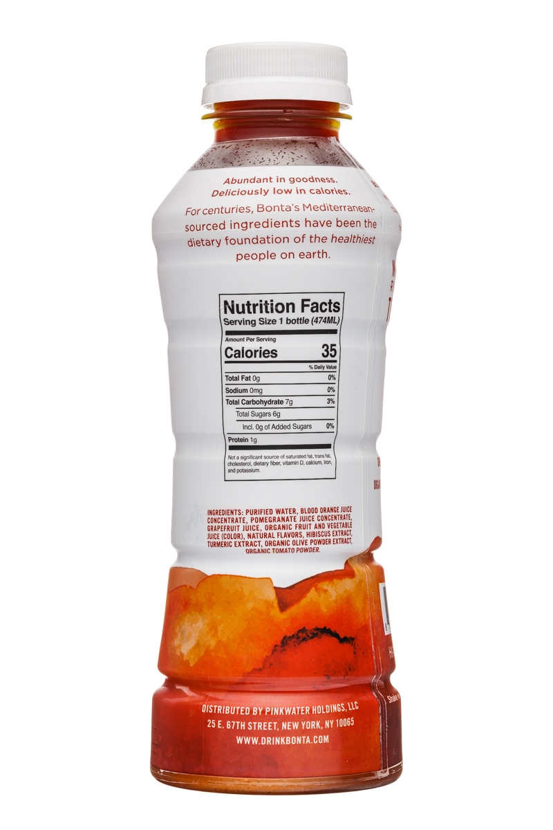 Bonta: Bonta-16oz-BloodOrange-Revive-Facts