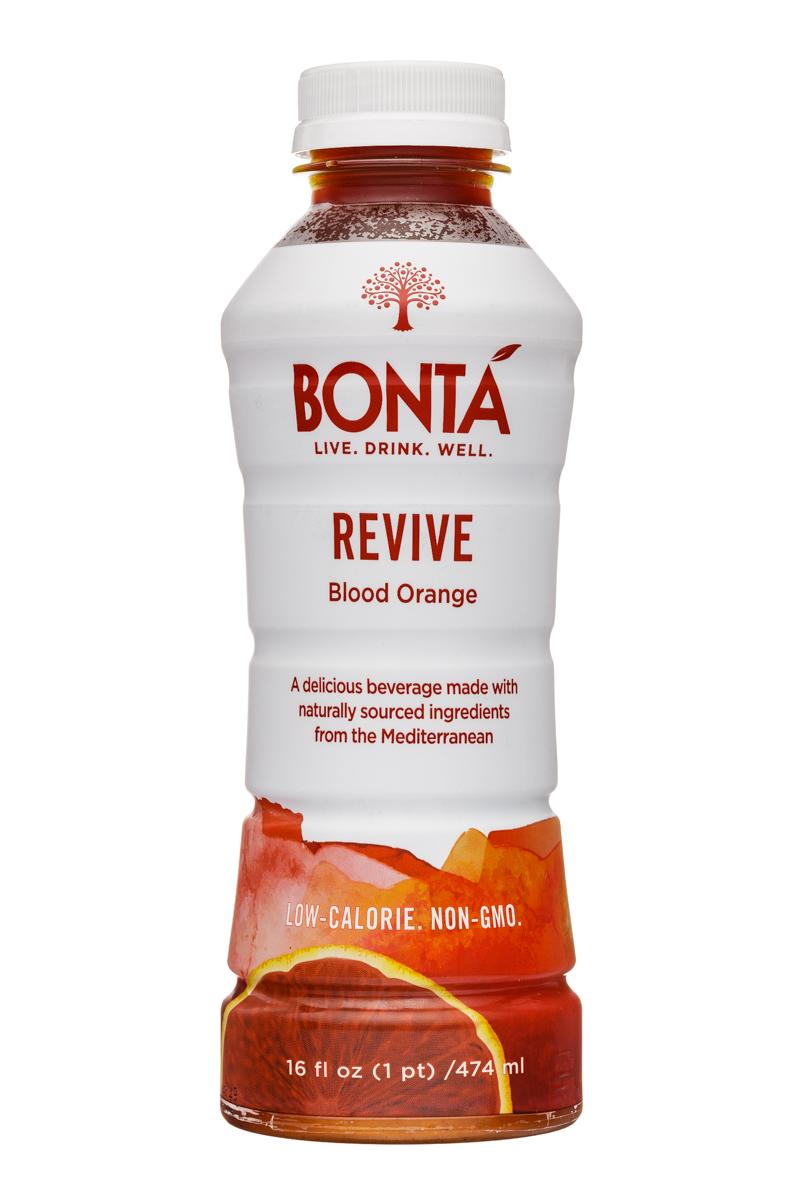 Bonta: Bonta-16oz-BloodOrange-Revive-Front