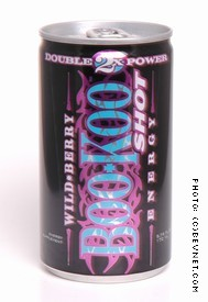 BooKoo Energy Shot Wild Berry