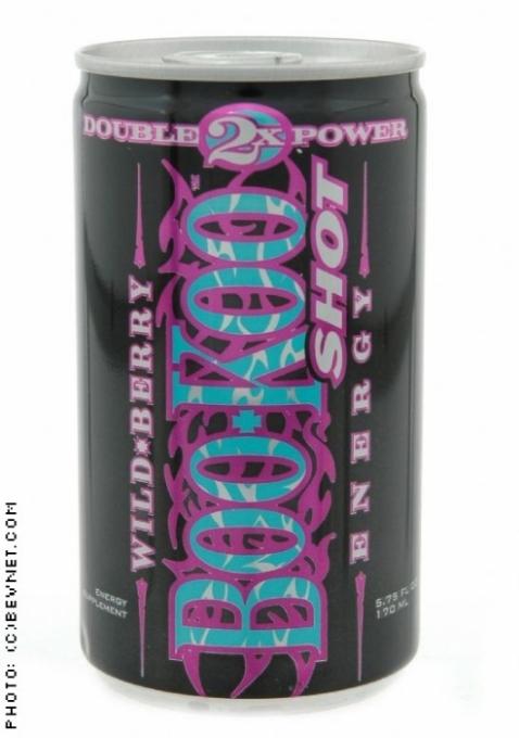 BooKoo Energy: Wildberry Shot