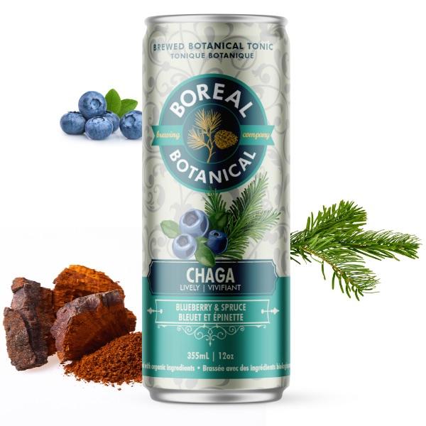 Energizing Chaga Botanical Tonic