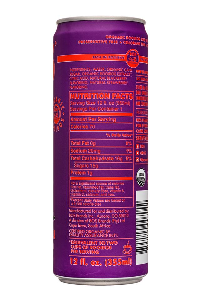 Bos: Bos-12oz-RooibosIcedTea-Berry-Facts