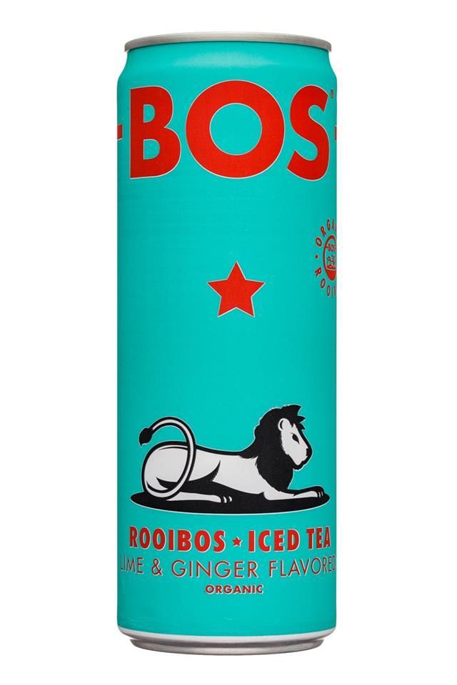 Bos: Bos-12oz-RooibosIcedTea-LimeGinger-Front