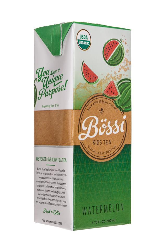 Bossi: Bossi-KidsTea-Watermelon-Front