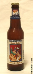 Boulder Dry Ginger Ale