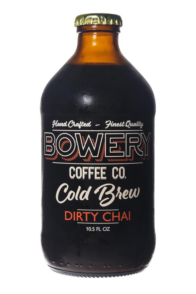 Bowery Coffee Co.: BoweryCoffee-ColdBrew-10oz-DirtyChai-Front