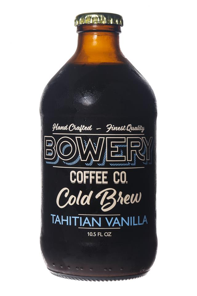 Bowery Coffee Co.: BoweryCoffee-ColdBrew-10oz-TahitianVanilla-Front