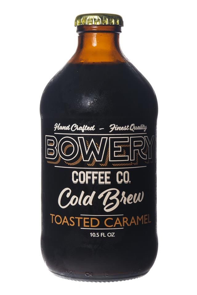 Bowery Coffee Co.: BoweryCoffee-ColdBrew-10oz-ToastedCaramel-Front