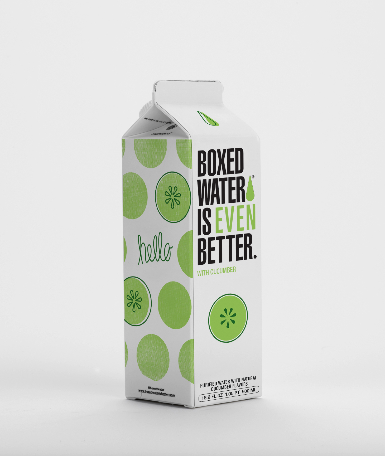 Boxed Water Is Even Better Cucumber