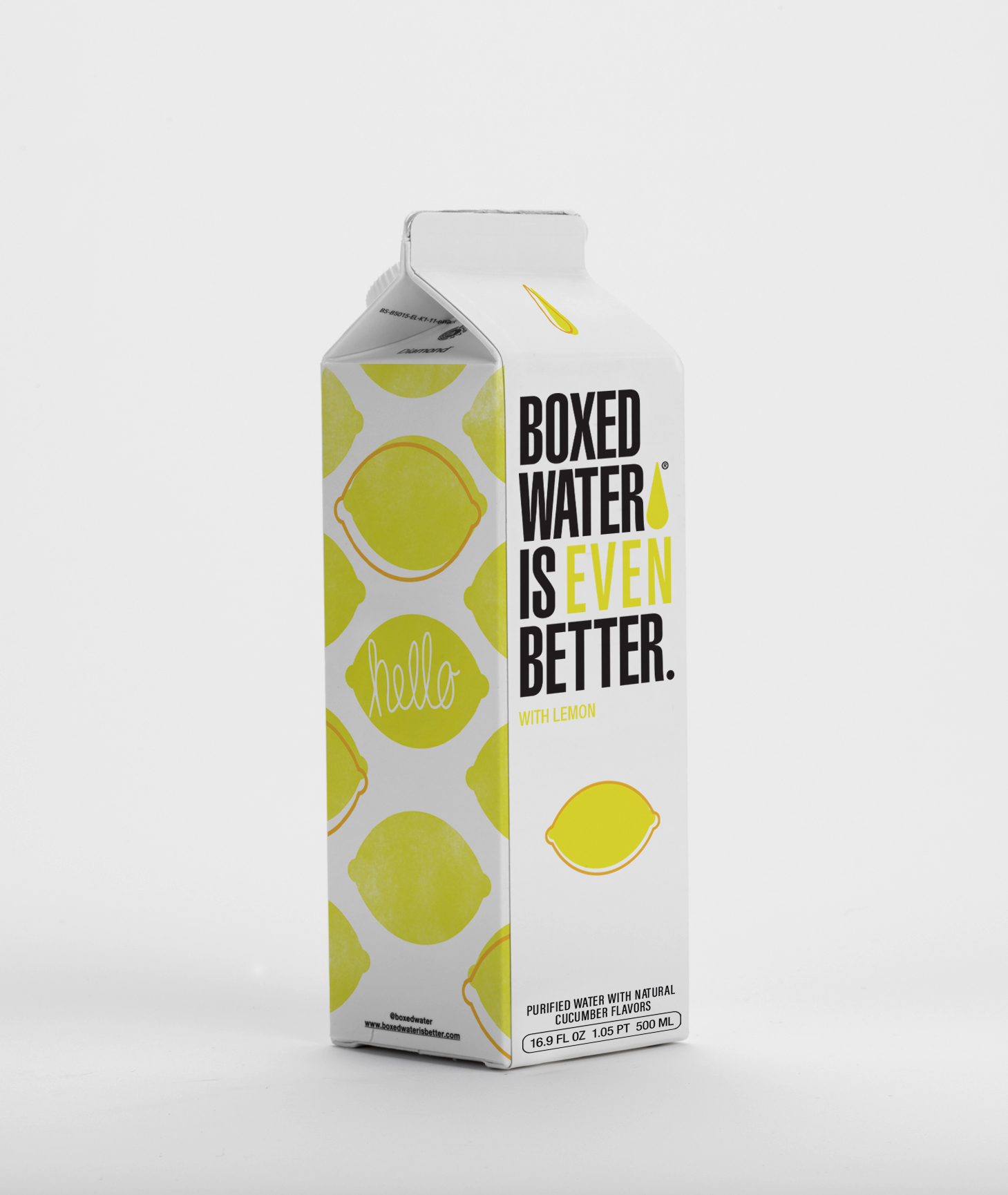Boxed Water Is Even Better Lemon