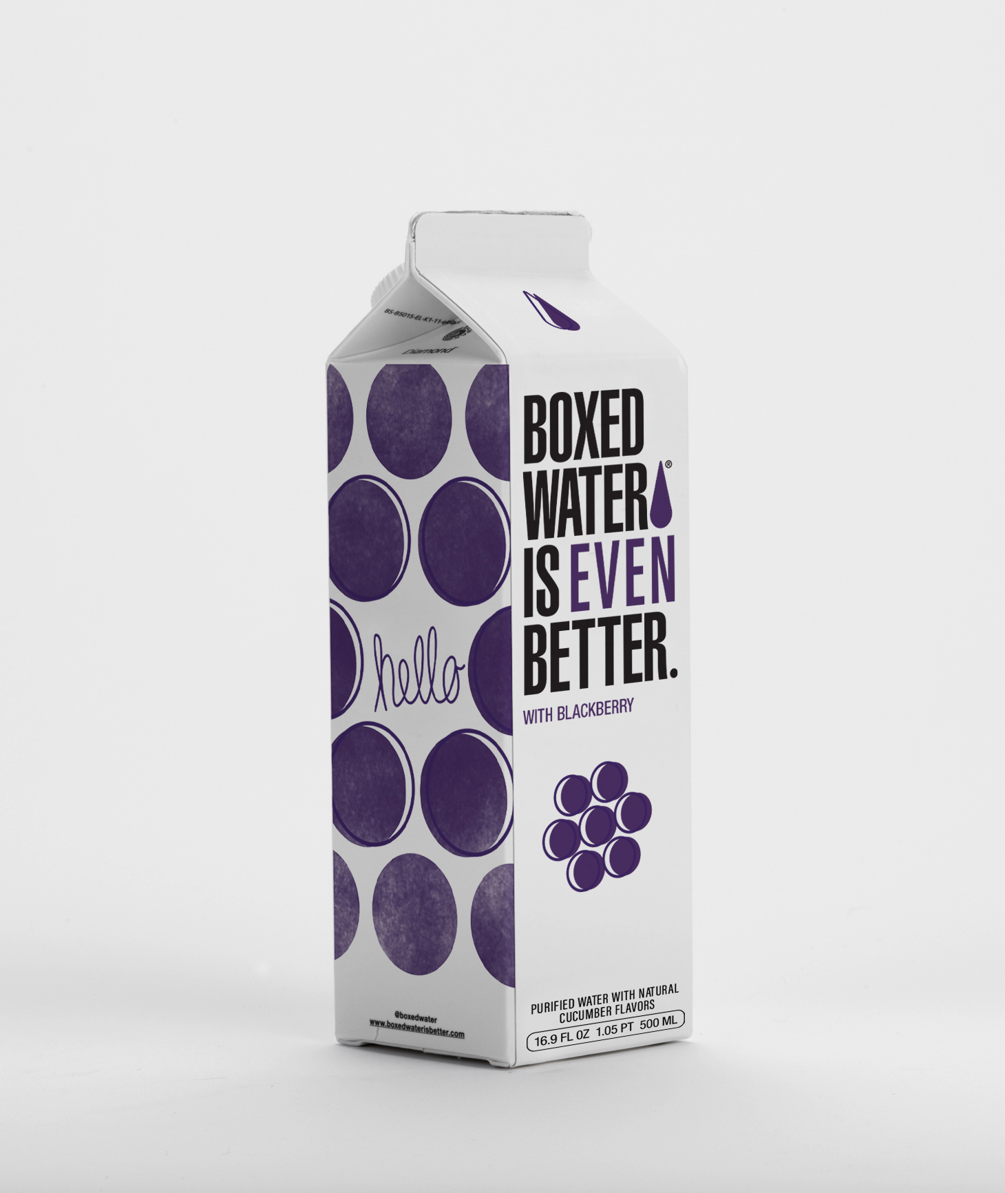 Boxed Water Is Even Better Blackberry