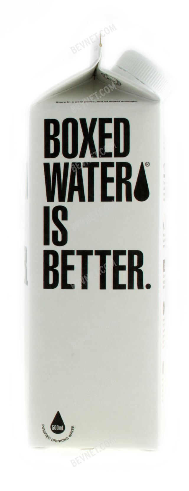 Boxed Water is Better: