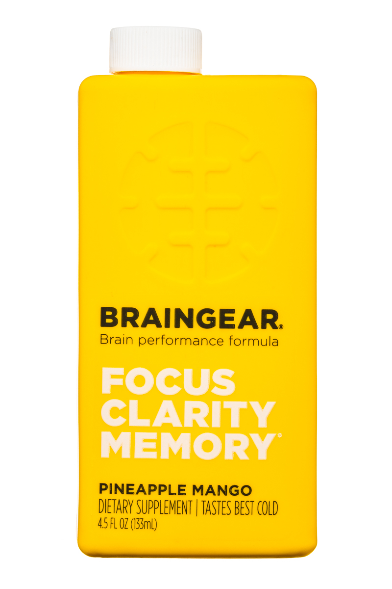 BRAINGEAR.: Braingear-4oz-PineappleMango-Front