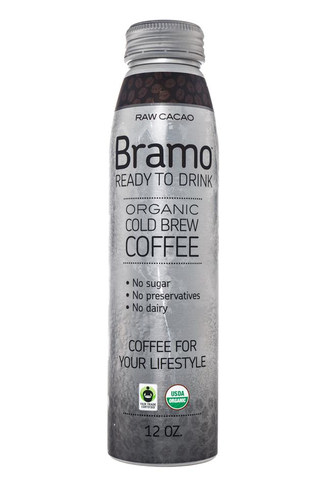 Bramo Ready to Drink: Bramo-ColdBrew-RawCacao-Front