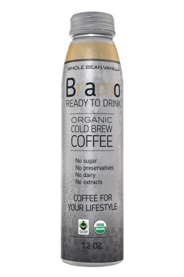 Bramo Ready to Drink: Bramo-ColdBrew-WholeBeanVanilla-Front