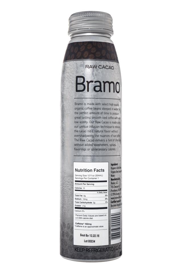 Bramo Ready to Drink: Bramo-ColdBrew-RawCacao-Facts