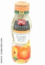 Creamy Vanilla Peach